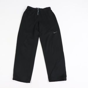 Nike Therma Fit Swoosh Logo Sweatpants Black Small
